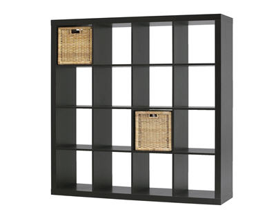 meuble expedit ikea 16 cases table de lit. Black Bedroom Furniture Sets. Home Design Ideas