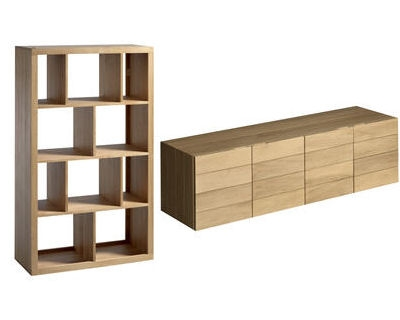 avant apr s d co biblioth que varia et buffet bas rainette de la redoute. Black Bedroom Furniture Sets. Home Design Ideas