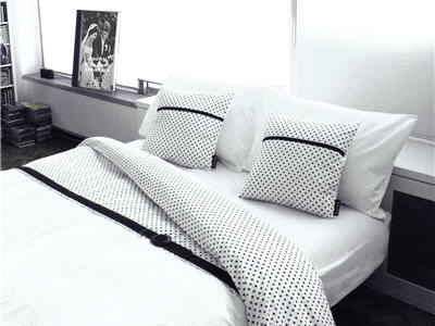 linge de lit. Black Bedroom Furniture Sets. Home Design Ideas