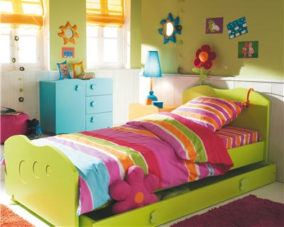 chambre d 39 enfant ambiance nature wizz de but. Black Bedroom Furniture Sets. Home Design Ideas