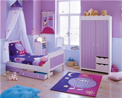 chambre d 39 enfant ambiance princesse isis chez atlas. Black Bedroom Furniture Sets. Home Design Ideas