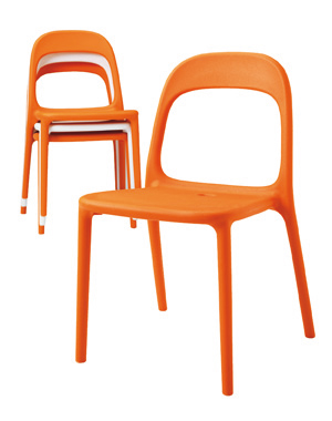 10 chaises tr s d co chaise urban d 39 ikea - Chaises empilables ikea ...