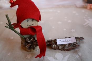 Diy fabriquer un marque place bonhomme de neige - Fabriquer un bonhomme de neige ...