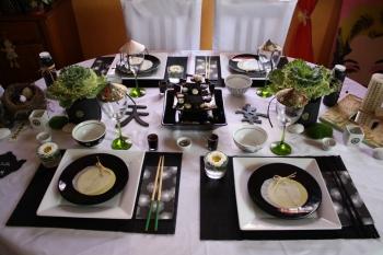 Une d co de table zen - Chemin de table asiatique ...