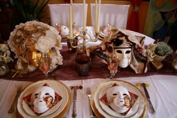 décoration de table carnaval de venise #4