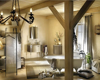 d coration salle de bain de charme. Black Bedroom Furniture Sets. Home Design Ideas