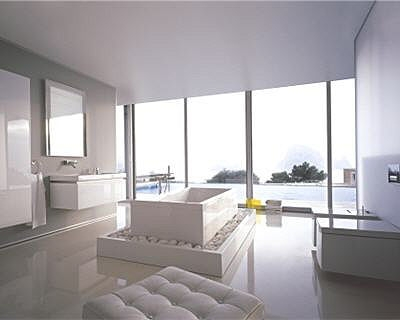 20 belles salles de bains d co starck x de duravit. Black Bedroom Furniture Sets. Home Design Ideas